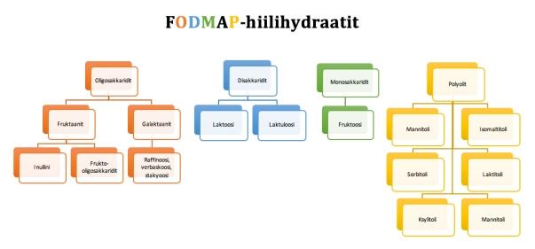 fodmap-hiilihydraattien-ryhmittely
